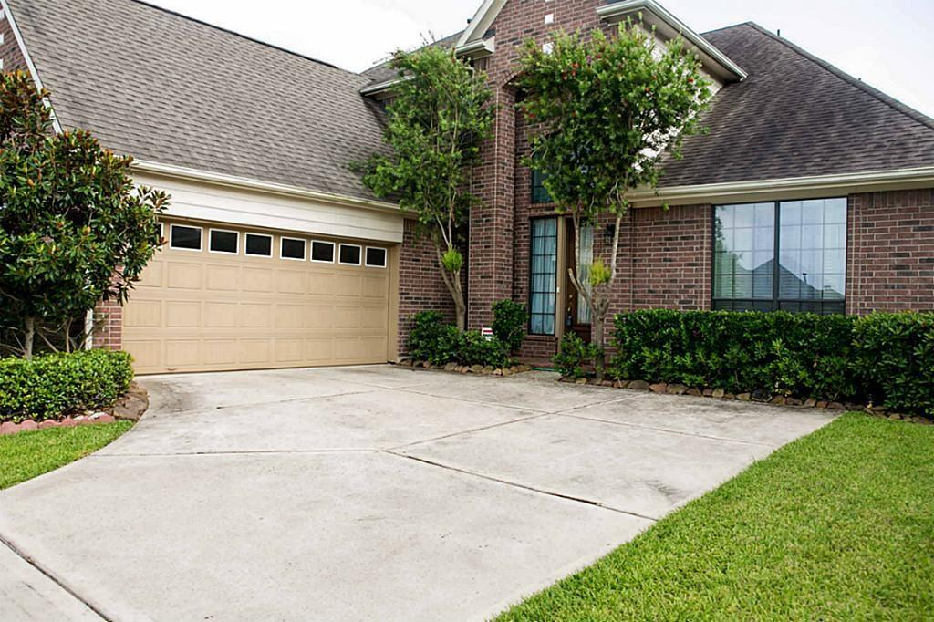 BEST VALUE IN THE NEIGHBORHOOD. This beautiful house is located at Telfair Master Plan Community with the great Fort Bend schools. It is within walking distance from Cornerstone elementary school, swimming pool, & lake. It has fresh paint and new carpet throughout the house. Extra room is located downstairs for a second bedroom. There is office/study room with built-in table. The house has covered patio at the backyard, attached two cars garage, & also extra space in the garage for workbench or storage cabinets. Fridge, washer, & dryer are not included. Available for showing starts 3/23/21.