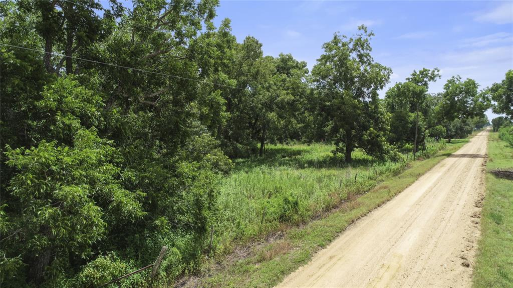 Spacious nine (9) acres of land in Wharton TX outside of Wharton city limits right off US 59, 30 minutes South of neighboring Rosenberg TX and Needville TX. Small home on the land needs work.  Lots of mature trees located on the property with quick access to the highway. Country feeling. Perfect to establish an acreage country home or any other practical applicable use (verify with Wharton county). Existing septic and well. In Wharton ISD.
