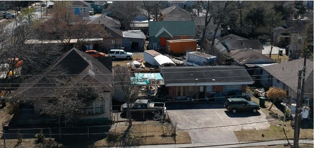 These 2 lots (5008 Canal St. 4,500 sq ft and 2 Adams St. 8,370 sq ft) are being sold as one with a Total Square Footage of 12,870. Homes on the property are occupied and they are aware the property is going to be sold for Commercial use and they will have to vacate at that time. The homes are not allowed to be shown, these are being sold for Lot Value.   Renderings are used on both just to give an idea how the property can be used. They are not separate properties for sale.