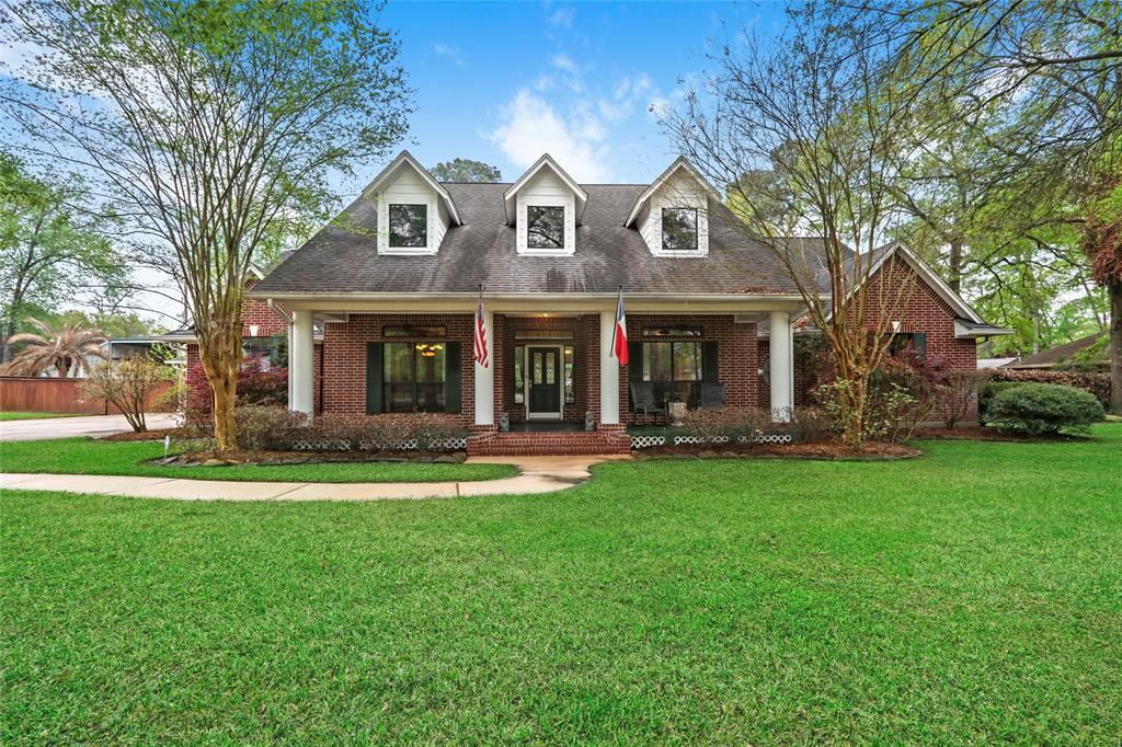 Gorgeous custom-built home with guest quarters. This home sits on two lots, over 1/2 acre and features a large kitchen with granite and is open to the family room. Private master suite overlooking the pool and large backyard. Oversized laundry room with custom built-in cabinets. Four car detached garage with workshop. Covered RV/Boat pad w/ 50 amp hook up and dump station with hurricane anchor cables. No MUD tax, no HOA, unrestricted property. Private water well, septic, tankless hot water heater, radiant barrier, Wireless remote access by phone Nest thermostat.  Also Wireless controlled by phone wrought iron gate and Security System.  Leaf guard system with potential water collection.  Home has in-ceiling speakers in all common areas and outside also on the covered patio and walk-way.   Great location. Zoned to Klein ISD.