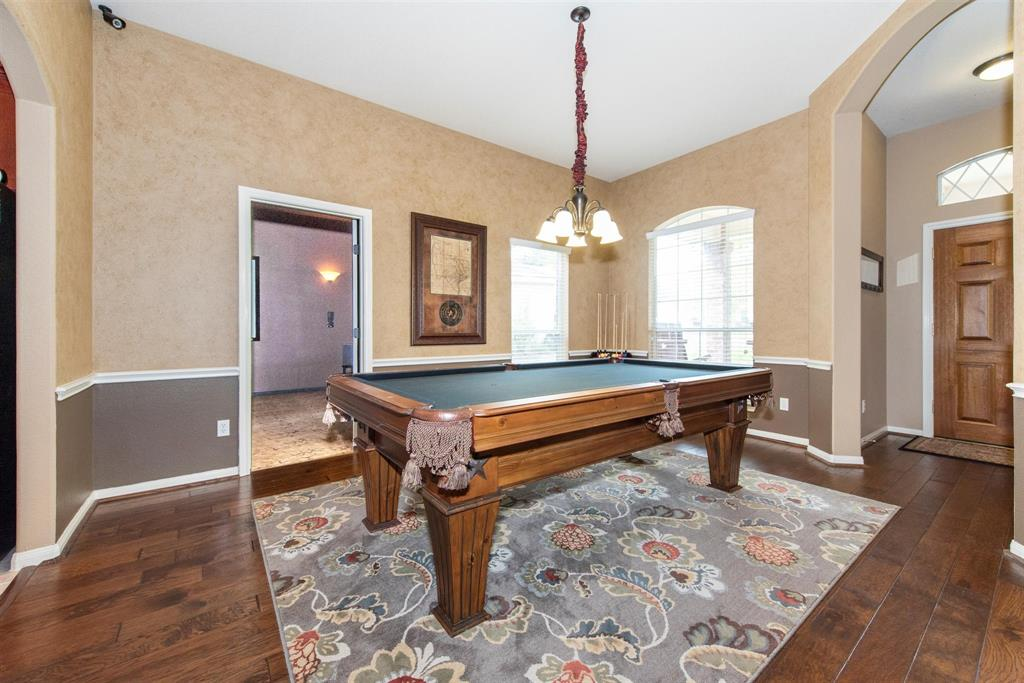 Formal Dining Or Pool table area