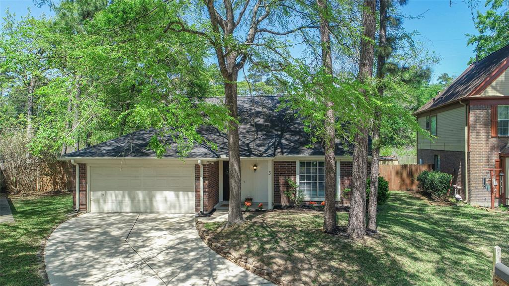 WOW! You'll love this super cute, well maintained, affordable home in Rivershire! This is a great location in the heart of a booming area. You are very close to I-45 for commuting, Lake Conroe, The Woodlands, and Grand Central Park. The home backs up to a greenbelt for additional space and privacy, and is covered by trees for a nice shady retreat and lower utility bills! The big backyard is spacious and a nice place to enjoy some fun with family and friends. This home is on a cul-de-sac which is a nice benefit that cuts down on traffic near the home also. Inside this home shows pride of ownership. There have been many nice touches to paint, flooring, bathrooms, kitchen, and more that help this home show great! You'll love the open living and dining area with a central fireplace wrapped in shiplap. There are also some large repairs that have been made with recent AC and roof replacement. The fridge can possibly stay to help the new owner! Come see it and get it....you'll love it!
