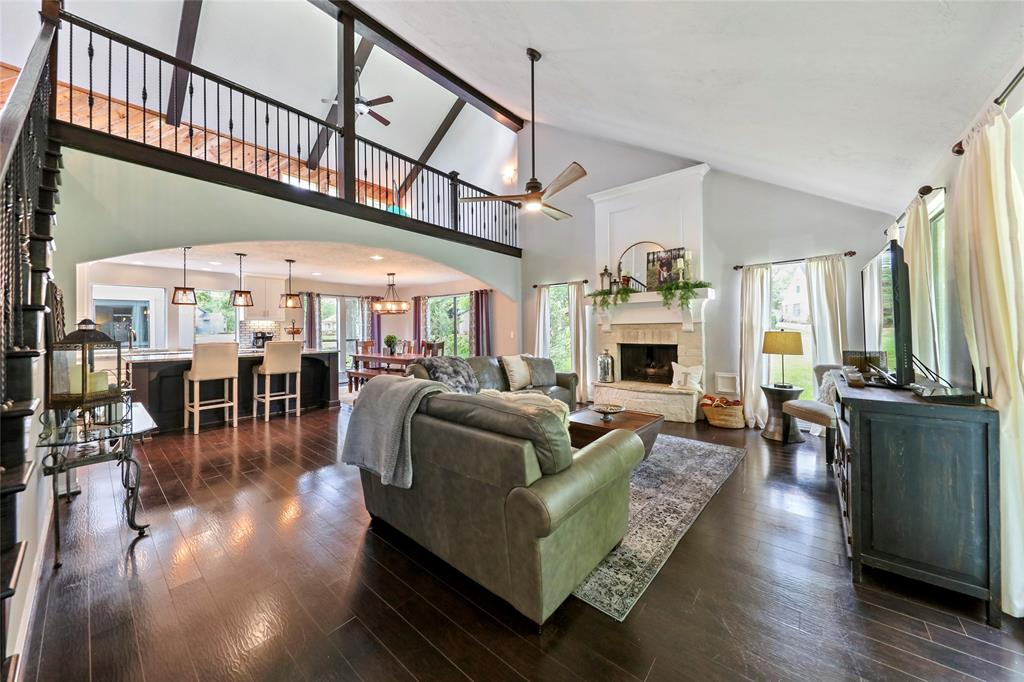 Just above the main living area is a bonus loft with endless opportunity.