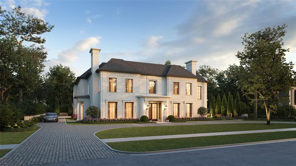 Welcome to The Sarbonne. Layne Kelly & JD Bartell masterpiece on 1/2 acre+ trophy lot in exclusive River Oaks Country Club Estates. AAA mint location, one in from legendary River Oaks Blvd on the coveted west side. Construction underway, delivery Q1 2022. Call for all documentation.