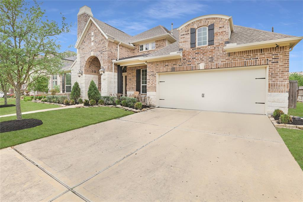Like new, polished Trendmaker home in the master plan community of Southern Trails with convenient access to shopping, entertainment, dinning and the Houston medical center. Not a detail left unturned including...Granite counter tops, travertine backsplash, breakfast bar, double oven, 5 burner stove, oversized laundry and pantry, gas fireplace, walk in closests, formal dinning, gameroom/media room, large covered patio, sprinkler system, split floor plan, LED lighting throughout and much more. This community offers several walking trails, pools, club house, ponds, putting green, playgrounds, etc.  Call today for your private showing!!!