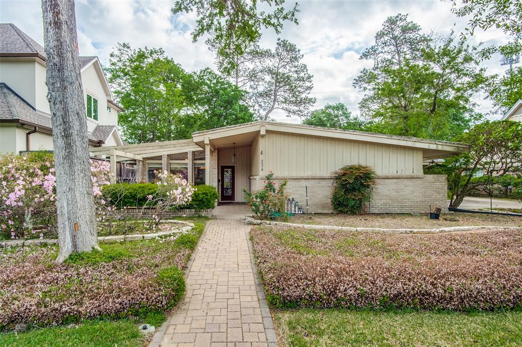 Outstanding opportunity to put your personality and style into this spacious mid-century modern home in the prestigious Memorial Trails neighborhood! A rare find with 5 bedrooms and 3 full baths, this 3000+sf home plus 11,000+sf lot backs up open green space, giving you total privacy from rear neighbors and plenty of room to play! Perfectly situated in the heart of West Memorial, the community is served by top-rated SBISD schools, minutes to major employment and medical centers in West Houston and the Energy Corridor, as well as dining and entertainment in City Centre, Town and Country, Memorial City, Memorial Green, Westside Tennis Club and Lakeside Country Club.  The popular Terry Hershey Park system is minutes away, in addition to the Edith Moore Nature Sanctuary; fantastic access to I-10 and Beltway 8. Don't let this one get away!