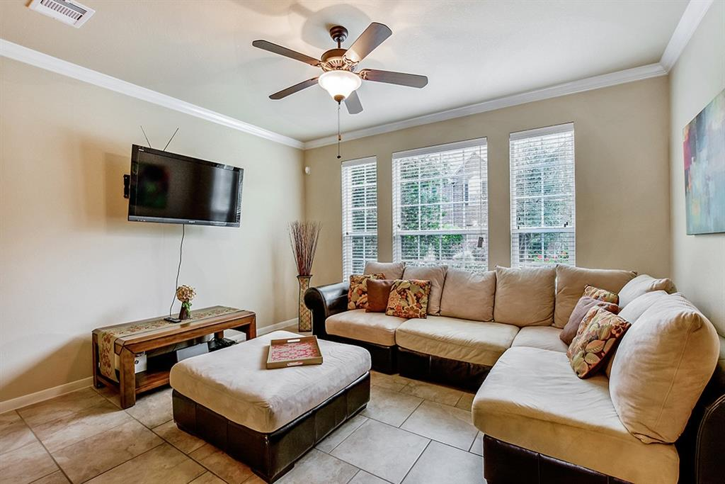 **FULLY FURNISHED TOWNHOME, Walking distance to Joel L Deretchin Elementary and Tree House Preschool, parks and tennis courts on Terramont Park. This cozy 2 story townhome on a quiet neighborhood is fully furnished and equipped with all appliances and kitchen supplies. All bedrooms up, Master with King size bed, Bedroom 2 with  three beds bunkbed, Bedroom 3 with sofa bed and desk. 2 full baths up and one half bath on first floor. Living/dining/kitchen combo, spacious master bedroom and bath, walk-in closets and ceiling fans.  Short term available with utilities included for $2,700 dlls per month. Electric bill cap 150.00 and Gas Cap of 100.00. Minimum 4 months. Carpets have been professionally cleaned.  Available on May 20th. NOTE: Fish tank and elliptical machine on photos are not included and no longer in the property.
