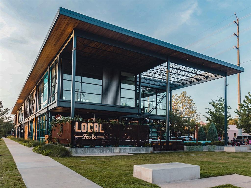 A short stroll down the Heights Hike and Bike trail will also lead to the Heights Mercantile, a retail development with shops, restaurants, ice cream shops, and more.