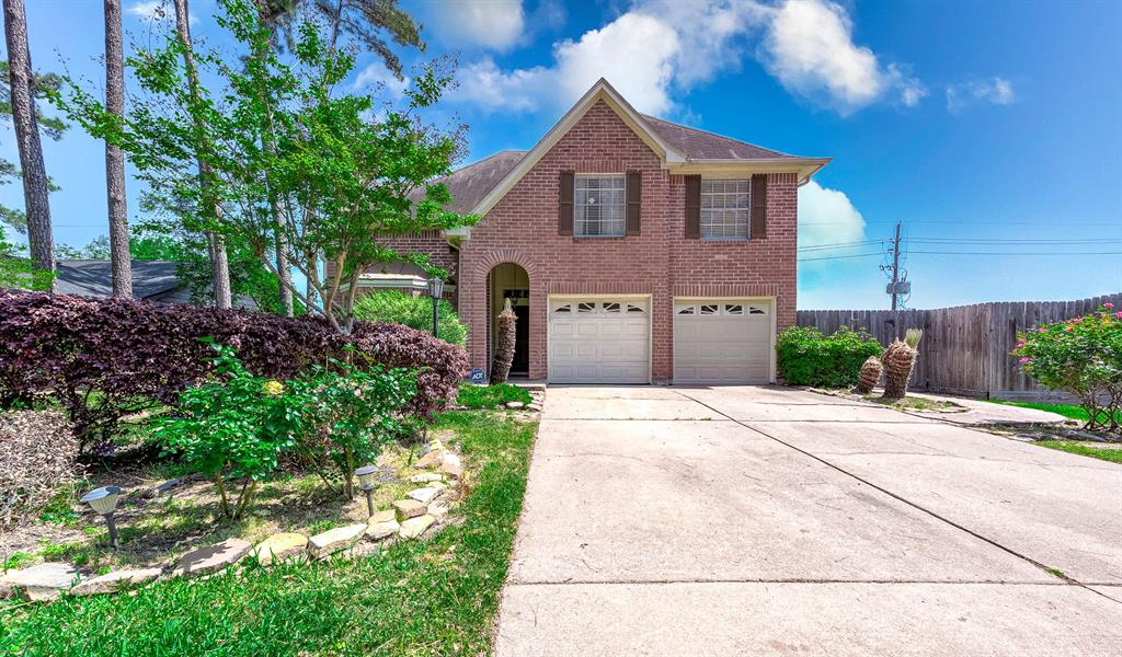 Welcome home to 16902 Colony Creek Drive! This home sits on a 9,522 sq/ft lot and offers a spacious 1,955 sq/ft of living space with 5 bedrooms, 2 full bathrooms, sits on a quiet street with beautiful landscaping, brick exterior, and all zoned to Klein ISD! You'll love all the incredible features this home has to offer, including an upstairs game room, spacious living room with fireplace, wood cabinets, granite counter tops, fully fenced backyard, relaxing pool, covered back patio, and so much more! Colony Creek Village is minutes from 249 and Grand Parkway 99 - in an excellent location! Schedule your private showing today!