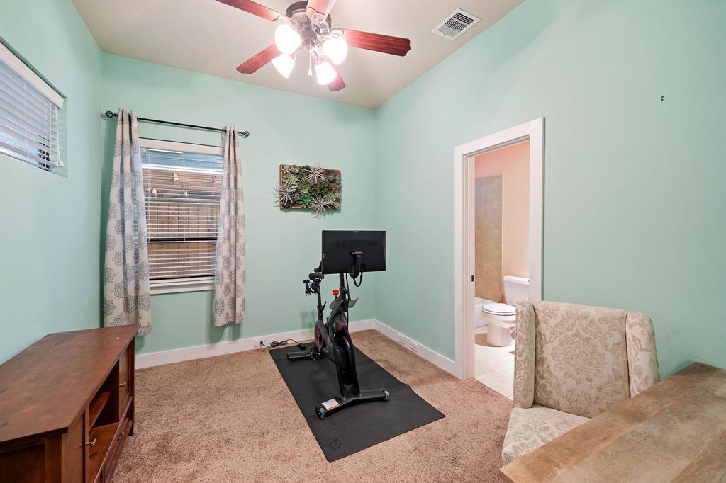 Third bedroom with an en-suite bathroom