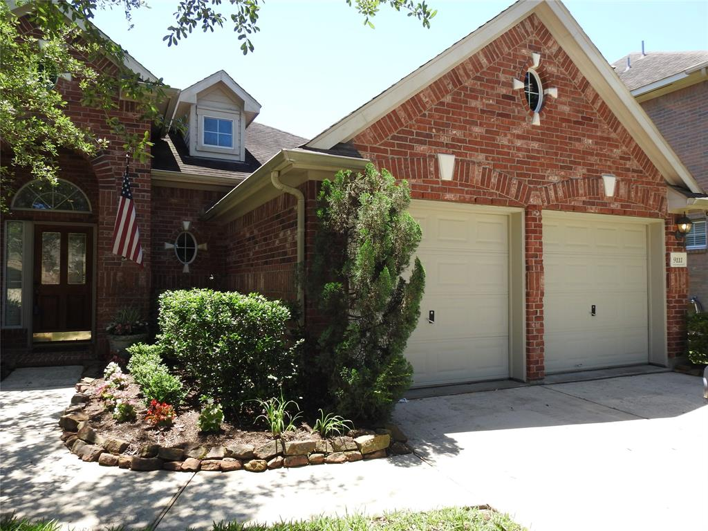Your home is HERE!!  Charming 3-bedroom, 2-bath home with study/game room tucked between secondary bedrooms. Spacious Kitchen has SS appliances, granite counters, lots of cabinets, and is open to family room with fireplace.  Wood-look tile and plantation shutters add warmth to main areas.  Extended patio is partially covered - great for entertaining! Gleannloch Farms is a master-planned community with many amenities and has convenient access to Grand Parkway.