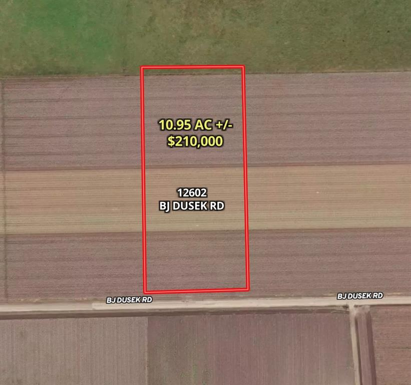 You must see this 10.95-acre property in Fort Bend County! The property is level and ready for your dream home, the farm you always wanted, or whatever you envision! It is located between Sealy and Rosenburg, and very close to Brazos High School and Middle School on HWY 36. The property is off the beaten path but in close proximity to major metropolitan areas. It is an easy hour drive to Houston on I-10. It has many added improvements and features so that you don't have to deal with the hassle of permits, approvals, and licensing with the county. Improvements and features include: 1) Mobiles OK 2) Private Water Well 3) Electric Pole 4) Fully Fenced Property 5) Gate. Fort Bend has been ranked the 5th fastest growing county in the U.S. The city of Wallis is only 5 minutes away and Rosenburg is just 14 miles east.