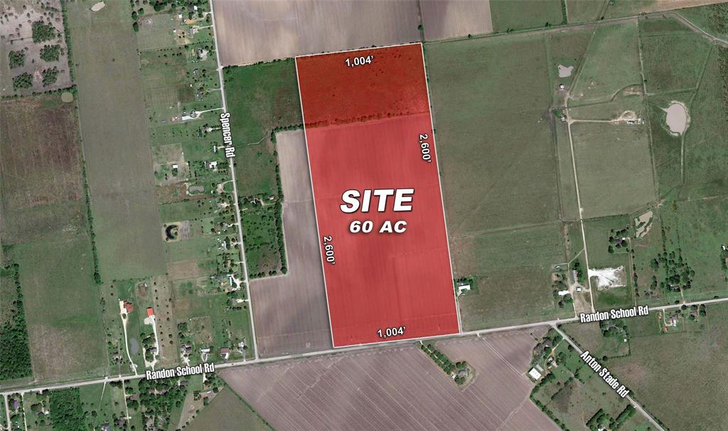 • Over 1,000' of Frontage on Randon School Road