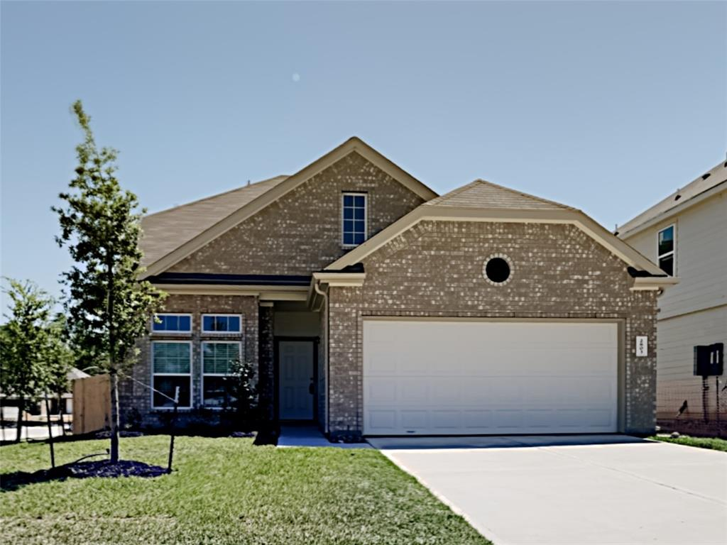 Lovely newly built home in Conroe located in the new Madison Bend subdivision. This home has 4 bedrooms and 3 full bathrooms with a living space of 2363 square feet and 2 car attached garage. This new home has a beautiful open planned kitchen with granite counter-tops and plenty of storage space, a nice comfortable living room with plenty of natural light to relax in. Three bedrooms and two bathrooms are located on the first floor. Second floor offers a large game-room area, one additional bedroom and a third bathroom. There is also a nice sized back yard where you can relax in or entertain friends and family.    There are many stores and restaurants in the area, Lake Conroe and the Woodlands that is very close proximity to Conroe which includes more shopping and fabulous restaurants of your choice.