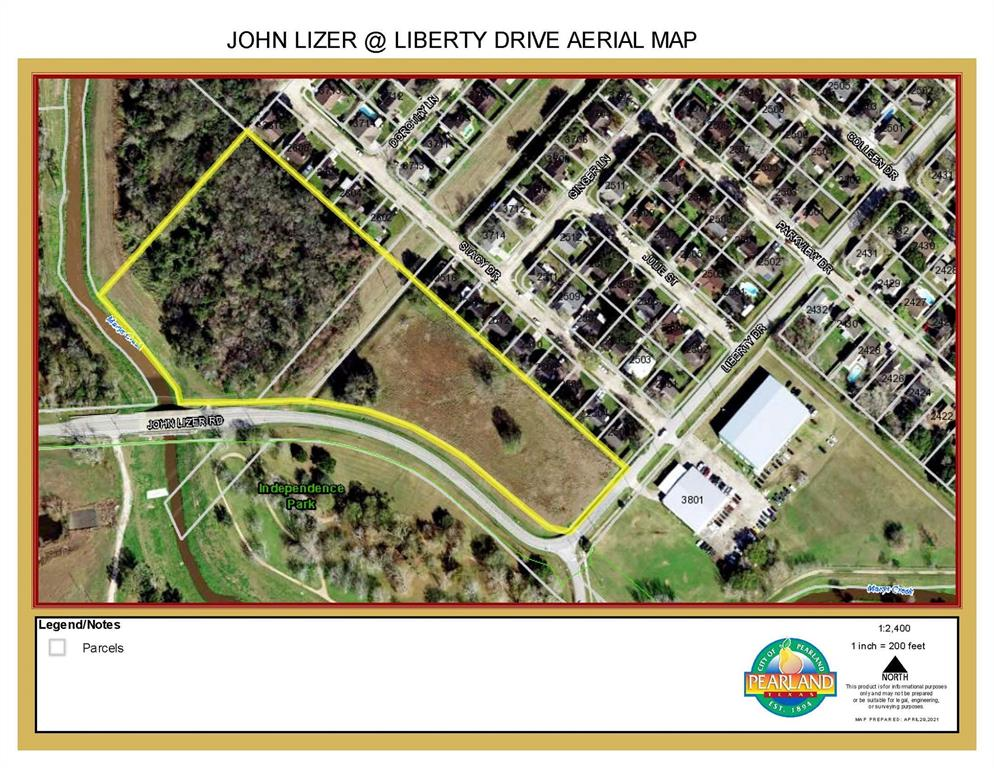 00 John Lizer at Liberty Drive, Pearland, TX 77581