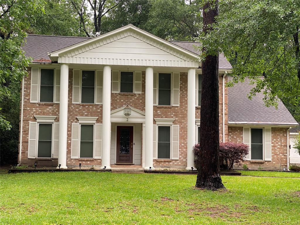 Wonderful home in The Woodlands close to schools, shopping, parks and golf course! This home features 4 bedrooms, 2.5 baths, formal dining room, formal living room or study plus family room with beautiful gaslog fireplace, large kitchen and breakfast room all with new tile flooring! The kitchen has lots of cabinets and counterspace, built-in desk area, double ovens and breakfast bar! Master suite down and huge secondary bedrooms up plus large 2nd bath with double sinks! Amazing screened in porch and custom deck in the back, perfect for entertaining!