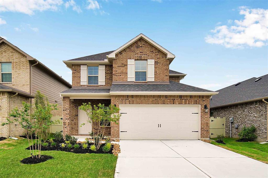 Never Lived In spacious D.R. Horton 4 Bedroom/2.5 Bathroom/2-car garage 2-story home with lots of storage.  Primary Bedroom downstairs and 3 Bedrooms plus Game Room upstairs.  All appliances, including Refrigerator, Washer & Dryer, are provided. Fully fenced in backyard with covered patio.  Only 1 dog under 30 pounds is allowed, case-by-case, No cats.