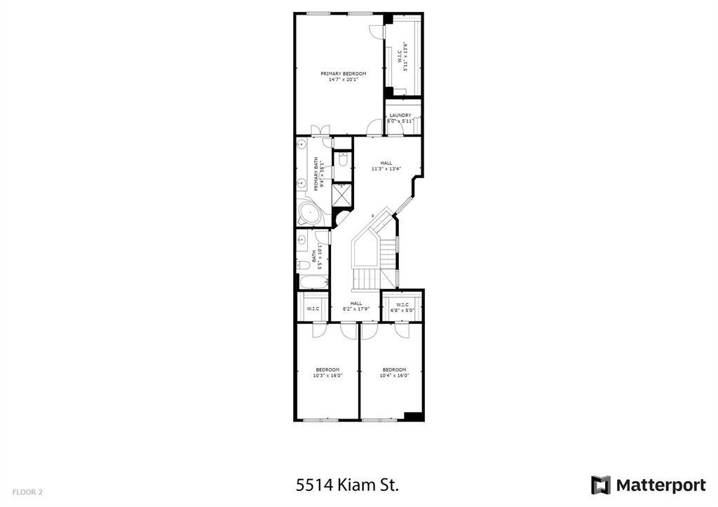 Floor Plan 2nd level