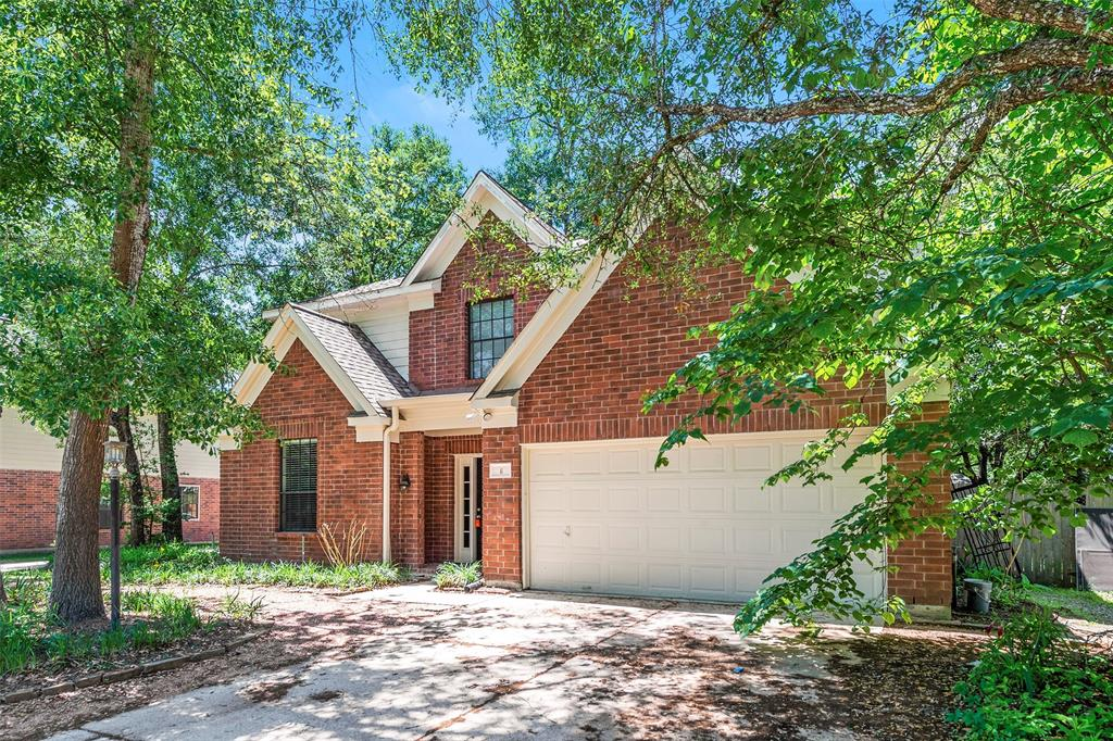 Charming 4 bed, 2.1 bath, 2,419 sq ft home in The Woodlands! Spacious living room with fireplace!  Open kitchen concept with updated counters. Master suite with attached bathroom. Spacious backyard, great for family gatherings! Pets accepted on a case by case basis. Additional admin fees apply. Schedule your showing today! *See agent remarks for showing instructions*