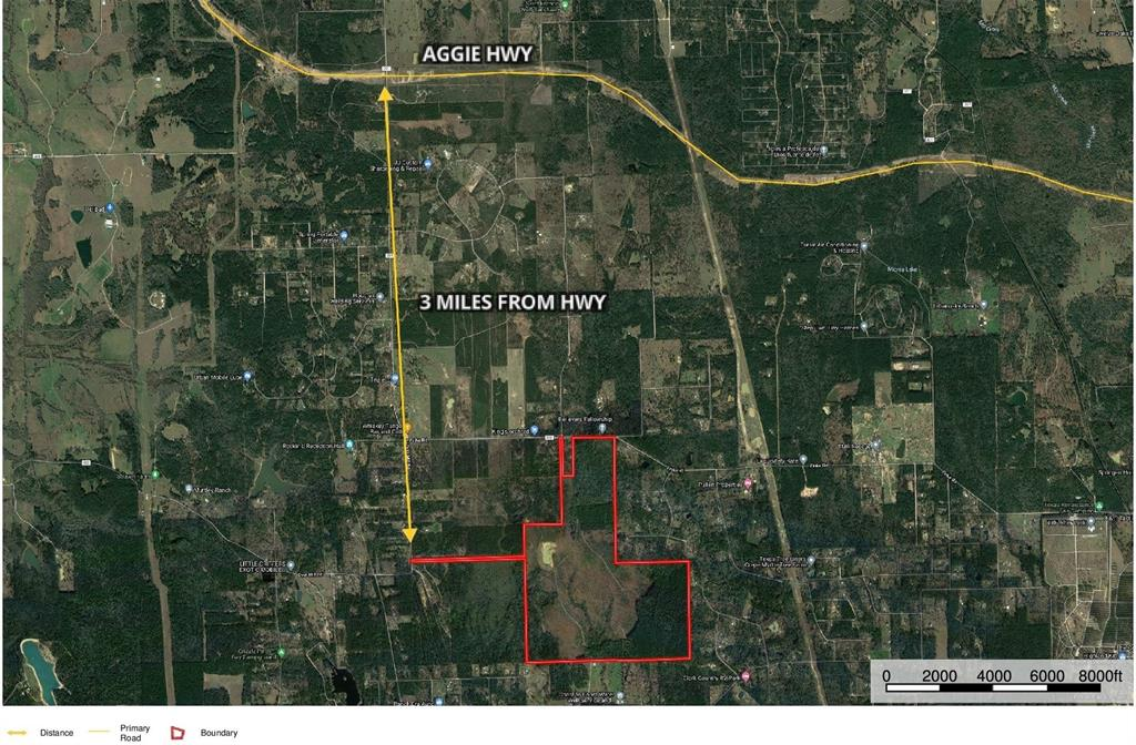 Attention investors!! Investment property now available! A great opportunity in a rapidly growing area 570+ acres just minutes from Magnolia, TX and just 3 miles from the the new Aggie HWY. This property has about 1350 ft of frontage on CR 302 with an additional 60' access fronting Dyer Mill Road. Electricity runs down CR 302 and the property has a water well on it.  It also has approximately 310 acres of timber that could potentially be ready for harvesting in the near future along with approximately 260 acres that has been cleared with small growth currently on it. It has an approximately 5 acre lake stocked with Florida bass and hybrid bass, fun hiking trails through out and an abundance of wildlife for the avid hunter. This could be used for recreational use, hunting, investment, ranching, development, etc...  With endless possibilities this property is a Must See!! Large parcels like this are getting hard to find.