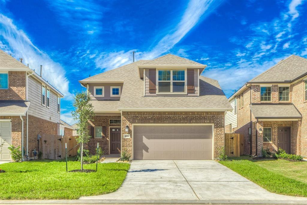 Beautiful two story home built by Chesmar Homes. This home has 4 bedrooms, 2.5 full bath, and two car garage. Two story foyer leads to family room overlooking covered patio, open kitchen with island and breakfast area. Master bath with private bath and walk in closet. Upstairs game room with 3 secondary bedrooms and full bath. Refrigerator, washer, and dryer included.