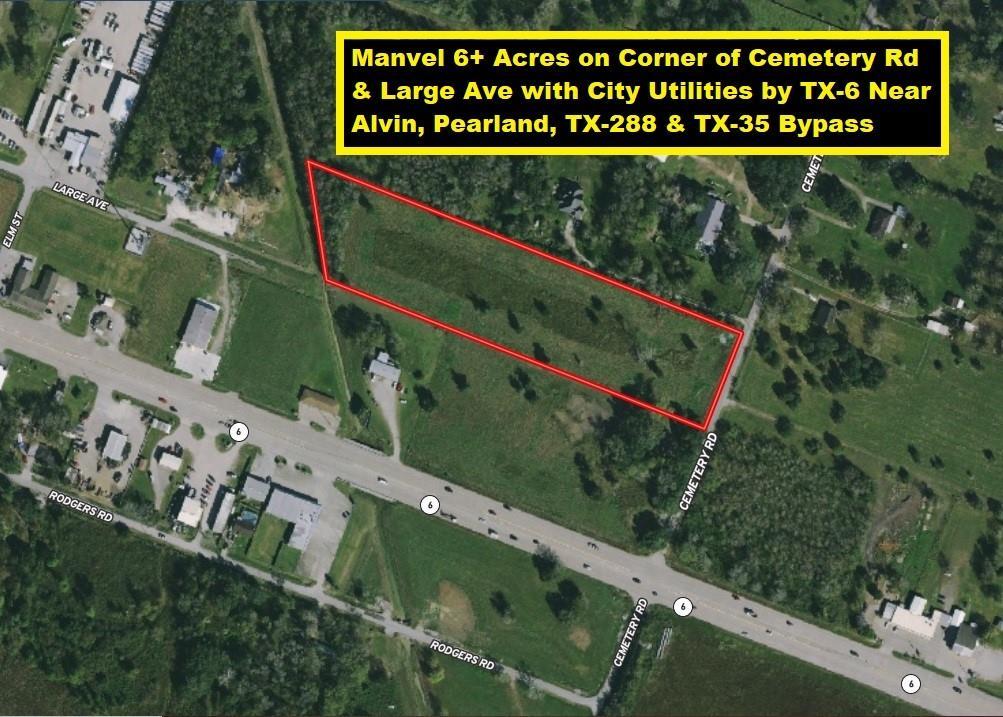 0 Cemetery Road, Manvel, TX 77578