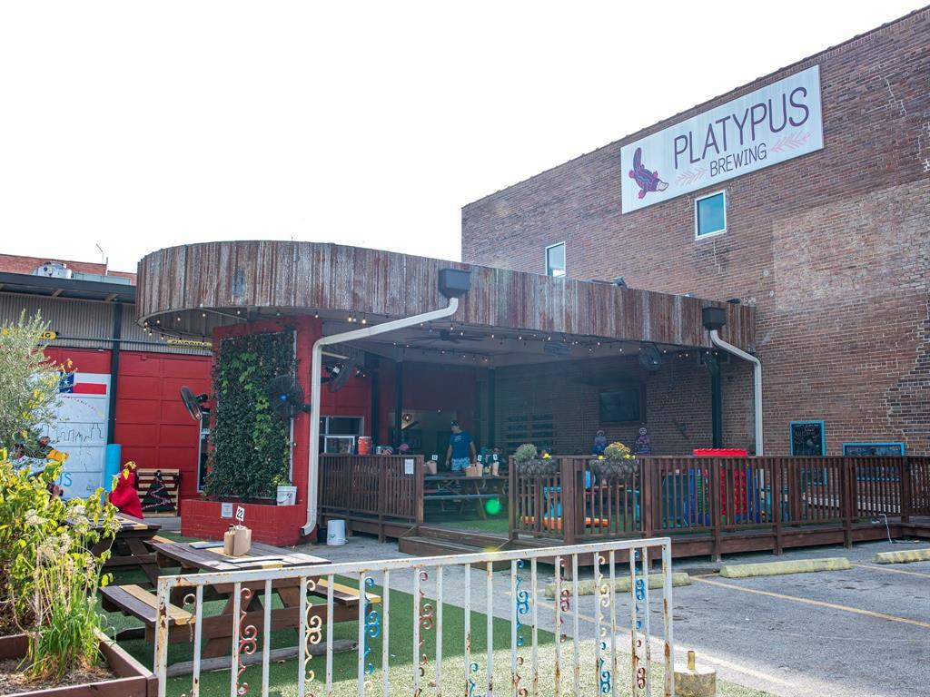 Enjoy neighborhood hangout at Platypus Brewing.
