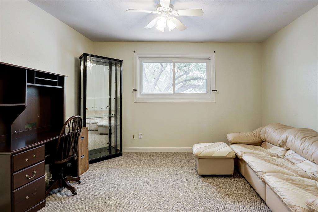 Large secondary bedroom with walk-in closet