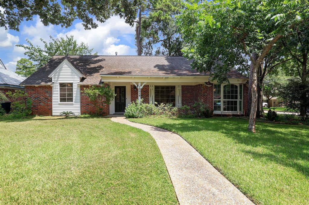 """Never flooded!  This corner lot 3 bed/2 bath is located in Memorial Plaza Sec 2 (Beltway 8 at Memorial).  Walking distance to City Centre.  And Rummel Creek Elementary is located 100 yards away.  Kitchen and bathrooms have been updated.  Property will be sold """"As Is""""."""