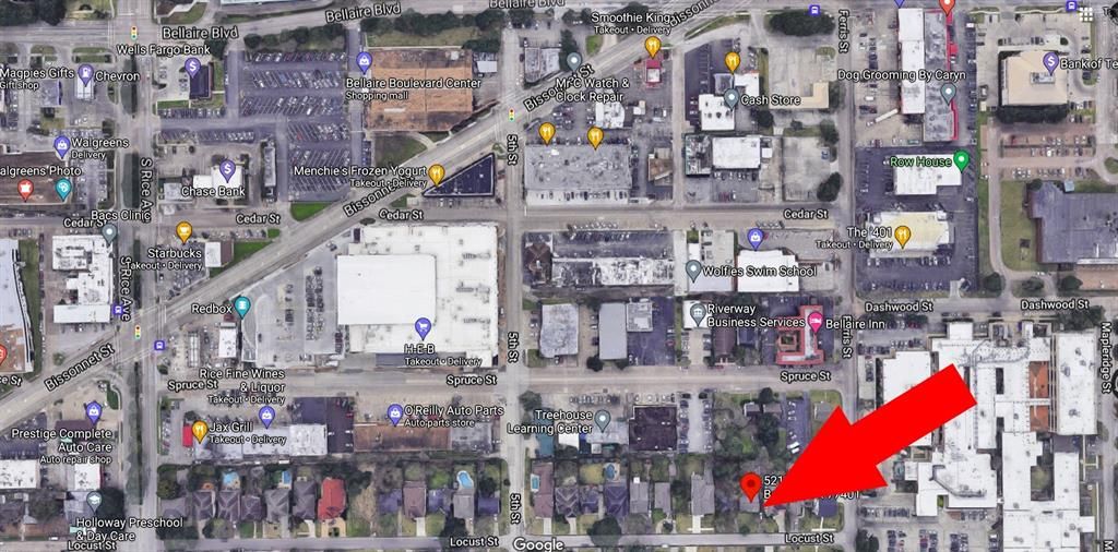 5217 Locust Street, Bellaire, Texas 77401, ,Lots,For Sale,Locust,52568073