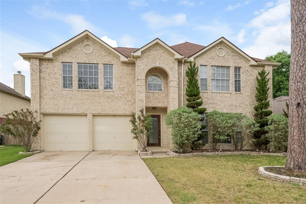 Stunning and very spacious home in Spring, TX! You will love the flowing floor plan, which includes a family room with a fireplace and an eat-in kitchen with granite countertops, a pantry and an island. All bedrooms are generously sized and the master bathroom also boasts dual sinks and a separate shower and tub. The patio in the backyard is ideal for outdoor entertaining!