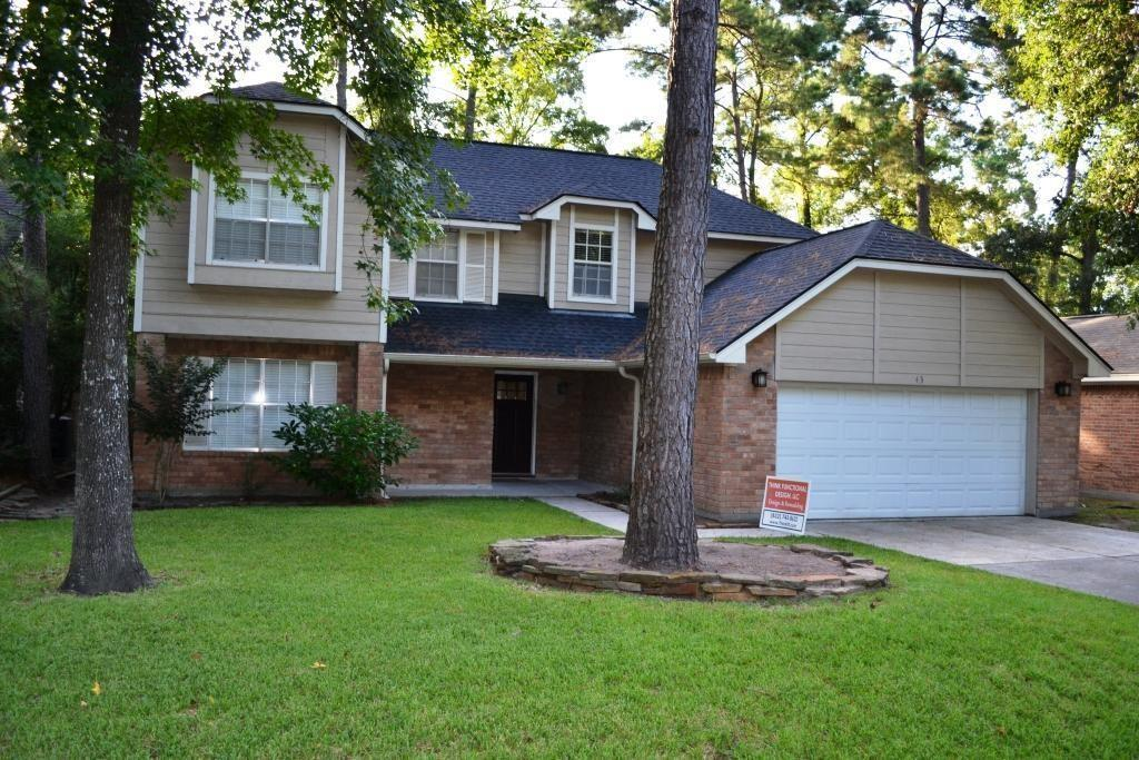 Hard to Find Updated 4 Bedroom with 3 full bathrooms, Study, Game Room and Covered Patio in the heart of The Woodlands. This layout features the Master Bedroom Downstairs, Bamboo floors throughout, Granite and Tile in the Kitchen & Bathrooms and stainless steel appliances. This home is Zoned to Highly Rated Conroe Schools, just 3 miles from I-45. Enjoy all the amenities The Woodlands has to offer at a short distance away! All walls are neutral colors now. NO PETS ALLOWED. NO EXCEPTIONS TO BE MADE.