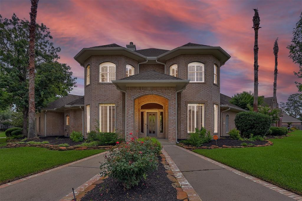 """Welcome home to this gorgeous """"wrap-around"""" Cannon custom home that spreads around a large corner cul-de-sac lot in the Willow Creek Golf Course community. This brick two story home has 4 bedrooms, 4 bathrooms (one that has access to the backyard for those interested in adding a pool), dining, study, family room, formal living, game and 3 car garage. The interior boasts hickory wood floors, tall ceilings, ample custom built ins, stainless appliances, crown molding and so much more. Some of the recent updates include the stainless kitchen appliances, fixtures, countertops throughout the house, under mount lighting, plantation shutters, LED lighting, wood and tile flooring. This one has so much to offer and is a must see!"""