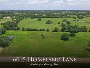 6015 Homeland, Brenham, TX, 77833