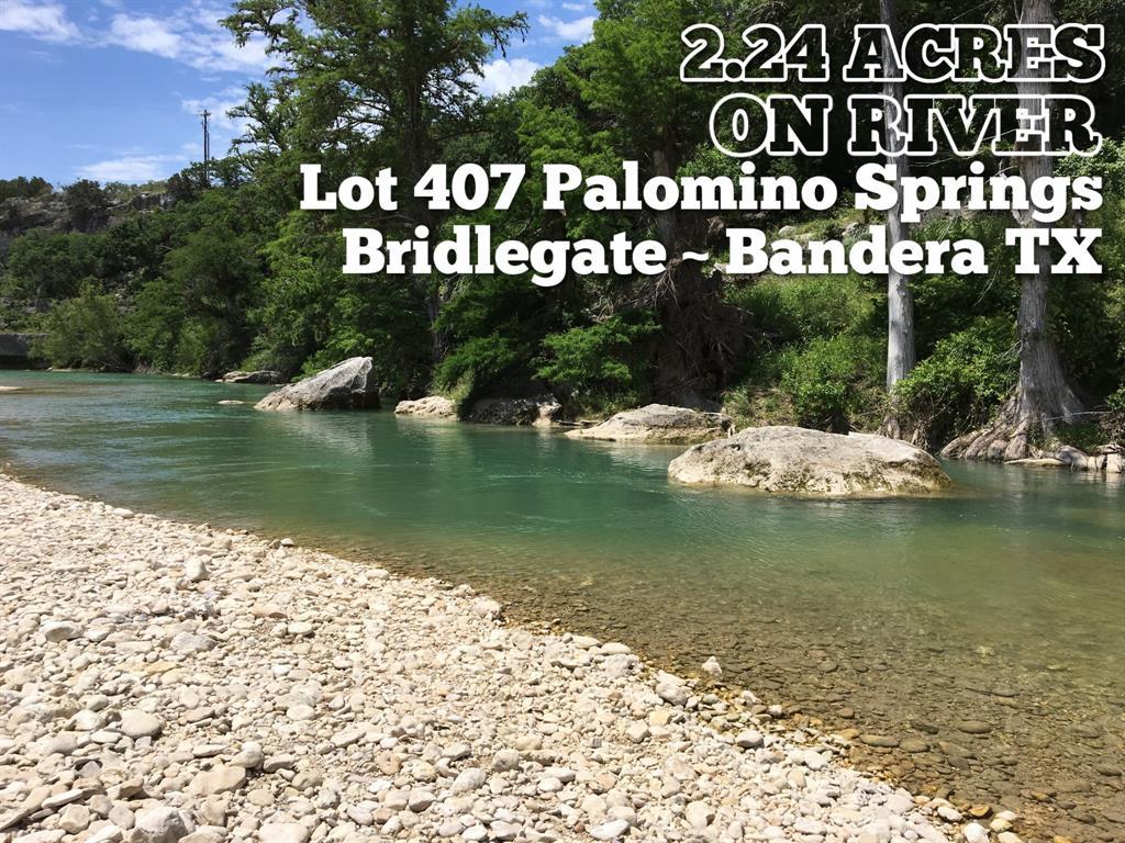 Lot 407 Palomino Springs, Bandera, TX 78003