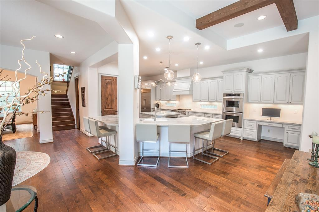 A beautifully remodeled home in the exclusive gated community of Carlton Woods. Originally custom built by Jeff Paul home on a Cul-de-sac and tucked into its own private corner. This gorgeous home has a mix of Spanish and a Mediterranean style with its cozy courtyard with a lovely pool and balconies overseeing the interior and exterior of the property. Primary Suite has access to Main courtyard as well as the casita/Guest Bedroom. Wood floors throughout the property, wooden shutters on most windows, exotic granite countertop in kitchen, granite in all bathrooms, new microwave, 3 new AC Units, Wet Bar upstairs with granite countertop and microwave, wooden library on main hallway upstairs and so many more beautiful upgrades and features including 3 beautiful fireplaces. Exemplary TWHS. Accompanied showings only.