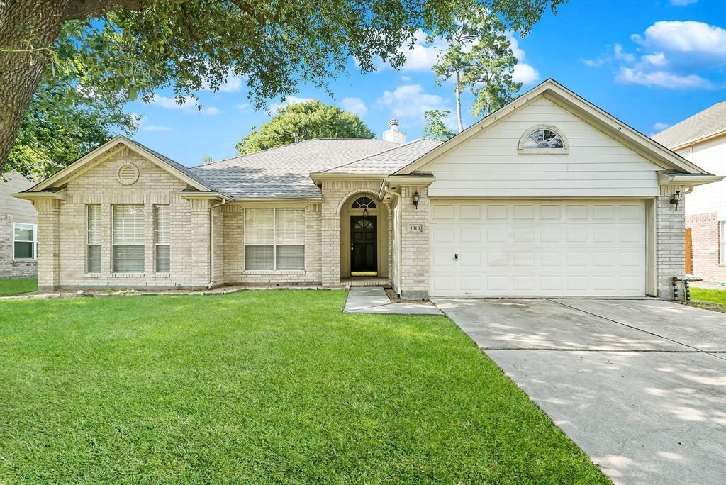 Location, Location!  This home is in a quiet neighborhood but right around the corner from Rayford and Hwy 99 and 5 minutes from HP and Exxon Mobil Campus!  Beautiful one story home with 10' ceilings, open concept with neutral finishes. Primary suite includes large bedroom, a huge walk-in closet, primary bath includes tub and separate shower.  Granite countertops, tile flooring and open concept from kitchen to family.  Kitchen has a double oven and gas cooktop.  Dual-sided fire place warms living and dining. Spacious master bedroom, bath with double sink, tub and shower. Community pool, park and playground area just a few houses away. And zoned to CONROE ISD.