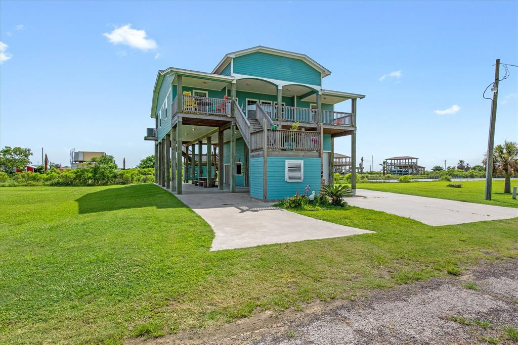 1109 Pompano Drive Drive, Crystal Beach, Texas 77650, 4 Bedrooms Bedrooms, 7 Rooms Rooms,2 BathroomsBathrooms,Single-family,For Sale,Pompano Drive,95254006