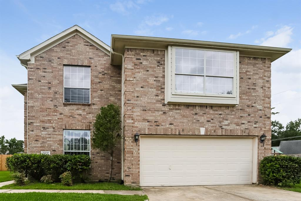Gorgeous home features a large family room with fireplace, dining area, large bedrooms, and lots of natural lighting throughout the home. Exterior includes a 2-car garage, large backyard and lush landscaping that surrounds the home.