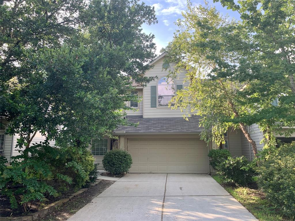 Like new town home in The Woodlands, freshly painted throughout, new Carpet and new SS appliances.  Close to shopping, easy access to I45 and FM 1488.  Main bedroom is larger than life and the en-suite boasts whirlpool tub, double sinks and separate showers. Covered Patio and good size backyard.  Cul-de-Sac location close to School Bus Stop.  Refrigerator included, bring your own Washer and Dryer.  Owner prefers no pets, definitely no cats. New Fence and new lawn maintenance coming, All the Rain has slowed down yard workers and fence replacement.