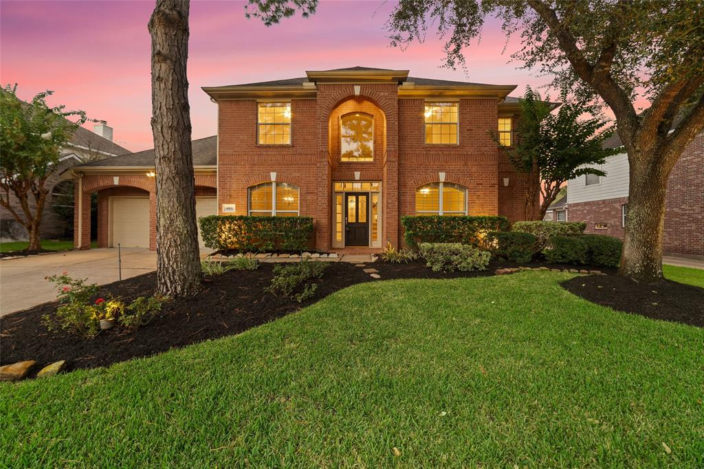 Gorgeous brick traditional built by Emerald Homes with new neutral interior paint & new painted kitchen & bath cabinets, gorgeous granite & updated stainless appliances (Bosch DW, GE Profile dbl ovens), travertine backsplash, tons of kitchen cabinets & counter space!  Gleaming wood floors downstairs & upstairs carpet almost new! Plantation shutters downstairs, Hunter Douglas power shades in the 2 story family room.  Large primary bedroom down w/bay window & primary bath with gorgeous slate flooring.  Heated pool/spa, rock waterfall, green space in the backyard for a playset or garden. Fence replaced in 2020!  Furnace replaced 2021.  Many more updates - see documents for udpate list. NO FLOODING per seller. Low 2.517 tax rate, top-rated Katy ISD schools & Beck JH is within walking distance.  Convenient to 99, the Westpark Tollroad, I-10 10 & La Centerra.  Check out the neighborhood park/playground at the end of the street & neighborhood walking trails lead to the nearby trail system.