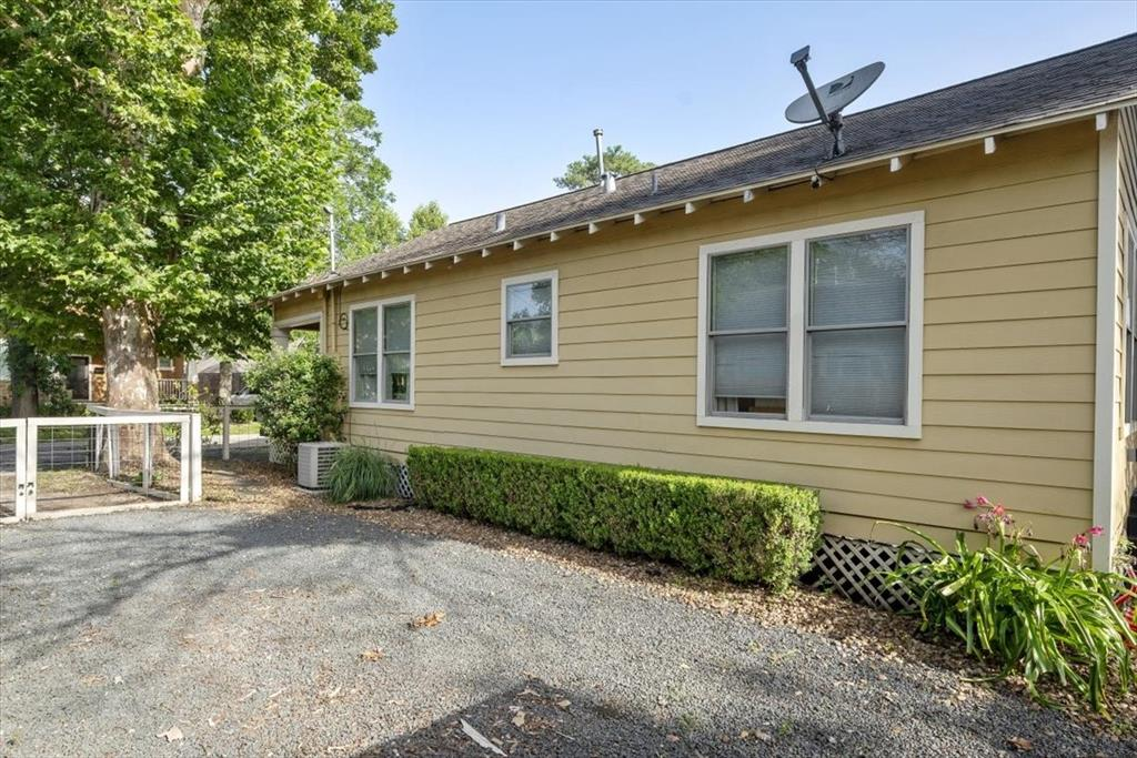 A gorgeous, full Sycamore tree shades the front yard. Fully fenced lot with a double driveway.