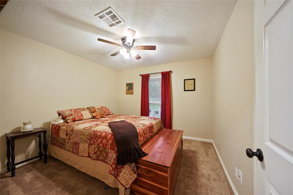 Here's one of the 2 secondary bedrooms.