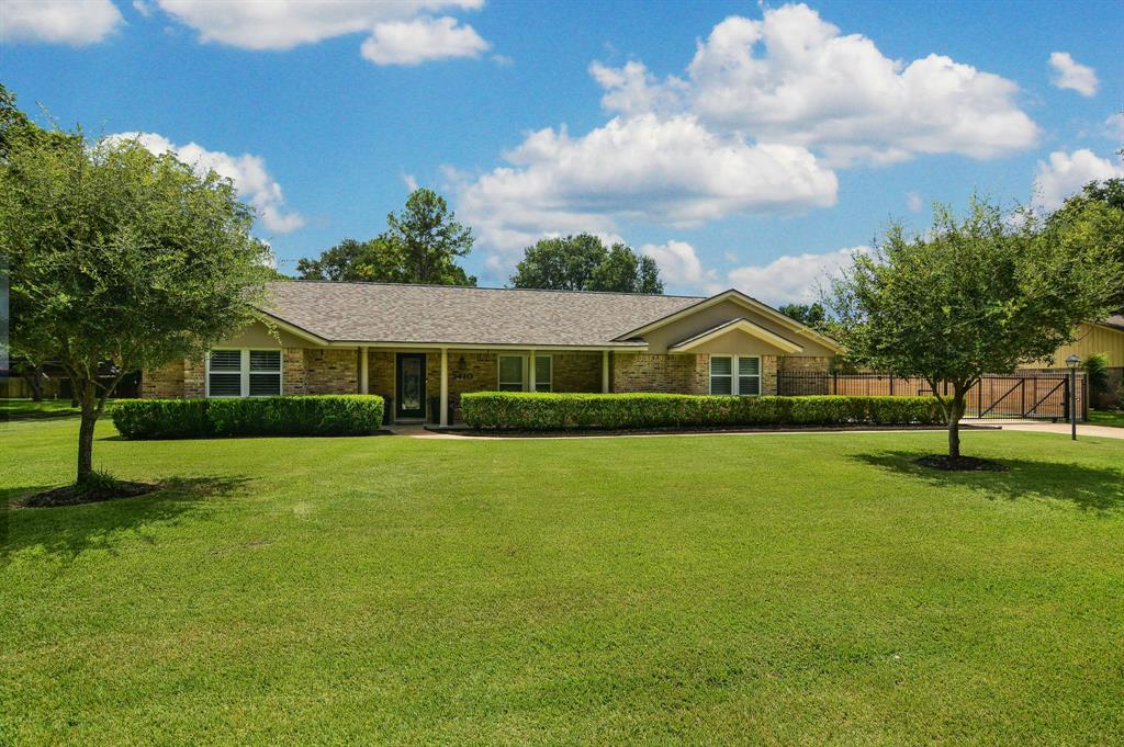THIS ONE HAS IT ALL! GORGEOUS REMODELED 1 STY DREAM HOME, 4 CAR FINISHED GARAGE WITH APARTMENT, & EXPANSIVE .44 ACRE LOT WITH POOL! NEW ROOF 8/2021! Beautiful Entry with Leaded Glass Door - Opens Onto Enormous Family Rm with Corner Stone Surround Fireplace + Custom Built-Ins + Beamed Ceiling! Chef's Dream Kitchen: Granite Counters + Stainless Appliances + Custom Stone Backsplash! Huge Walk-In Pantry! Samsung Fridge Stays! Unbelievable Master Suite - French Doors to Pool! Custom Barn Door Opens Onto Spa-Like Bath! Large Secondary Bedrooms - One with Blt-In Desk & Storage! Two Big Extra Rooms - Use as Home Office, Gameroom, Etc.! Fully Finished 4 Car Detached Garage with A/C & Heat - Updated Insulated Doors + Washer/Dryer Hookups + Utility Sink + Blt-In Storage! Fantastic Garage Apartment with Kitchenette + Full Bath (Appx 950 SqFt) - PLUS Private Deck! Retreat-Style Backyard: Fabulous Beach Entry POOL with 3 Fountains + Sunshade + Pergola Covered Patio! Gated Driveway! MUST SEE!