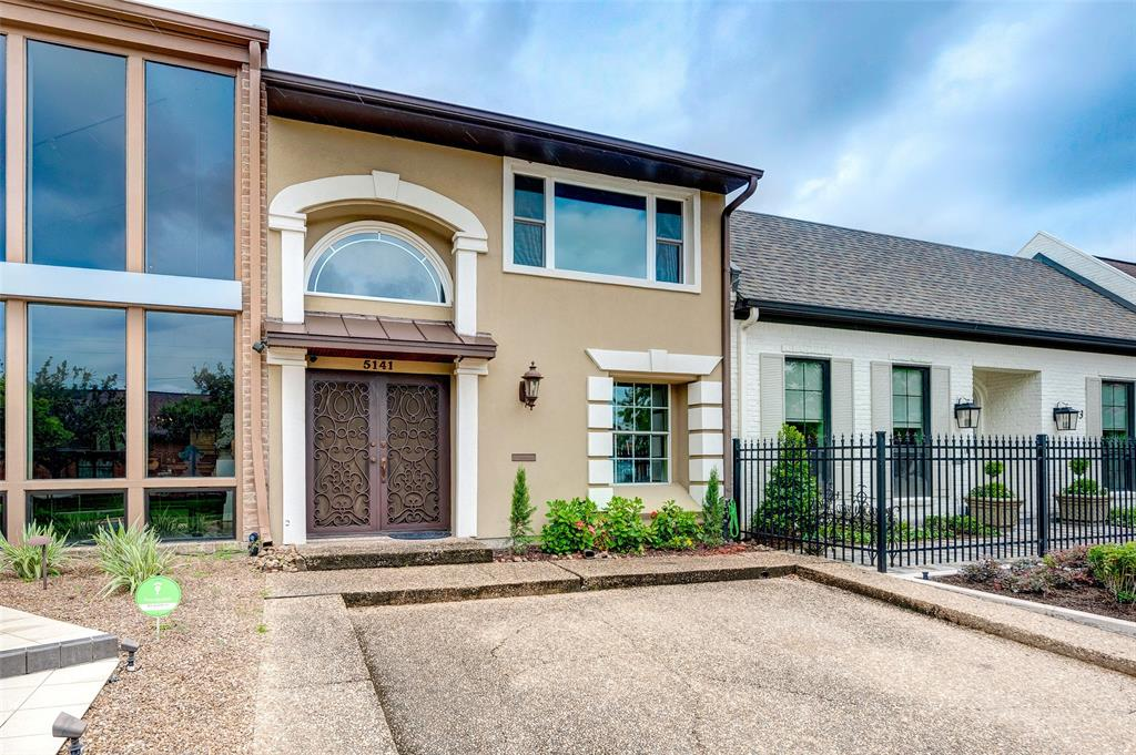 RARE! Updated Tanglewood area home with NO HOA across from St. Michael Church and School. Enjoy living close to Memorial Park + Galleria + Whole Foods + Uptown & more. One of the  largest homes in Del Monte terrace. Great home with the Primary Bedroom on 1st floor + first  floor private guest bedroom + 1st floor indoor utility + Loft on 3rd story could be game room,  office and/or closed-in bedroom. Enjoy a private 2 story indoor atrium with a beautiful  waterfall with a winding staircase to the kitchen and open concept living area. Enjoy natural  light with skylights with high ceilings creating wonderful open concept living. 3/4 inch  hardwood floors with UPGRADED Stainless steel appliances, Recent ROOF and TPO on the attached 2  Car Garage roof, Recently installed Water Heater & AC unit. Lifetime warranty on PEX Piping.  Main electrical line and breaker box recently replaced. Close to River Oaks + Zoned to  desirable Briargrove Elementary and Tanglewood Middle School.