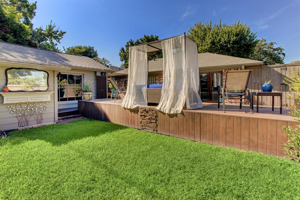 Every inch of this lot and property is usable, low maintenance, functional space!