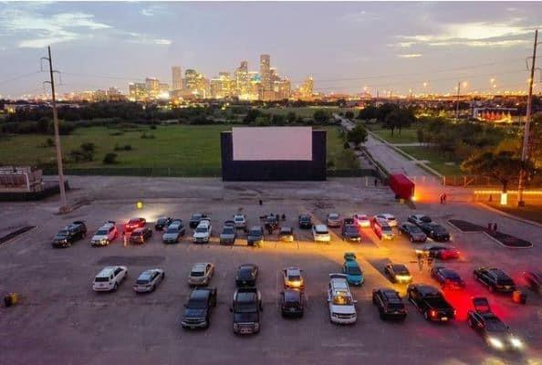 The nearby MoonStruck Drive-In Cinema.