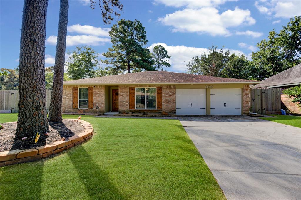 WOW!! Must see this recently updated home. Conveniently located in a quiet cul-de-sac just minutes away from FM1960 and Hardy Toll Road.  This home features recently installed gutters, recessed lighting, 8x12 storage shed, oversized covered patio area, and much more.  Be sure to have your agent print out the list of upgrades when you schedule your private tour.
