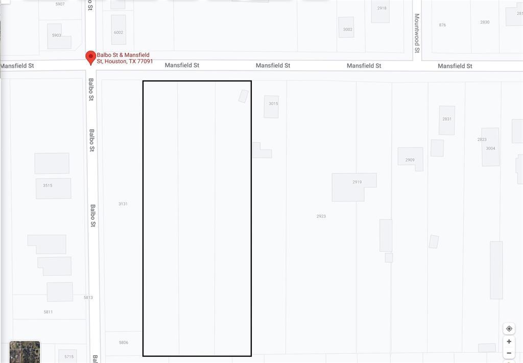 0 Mansfield Street, Houston, TX 77091
