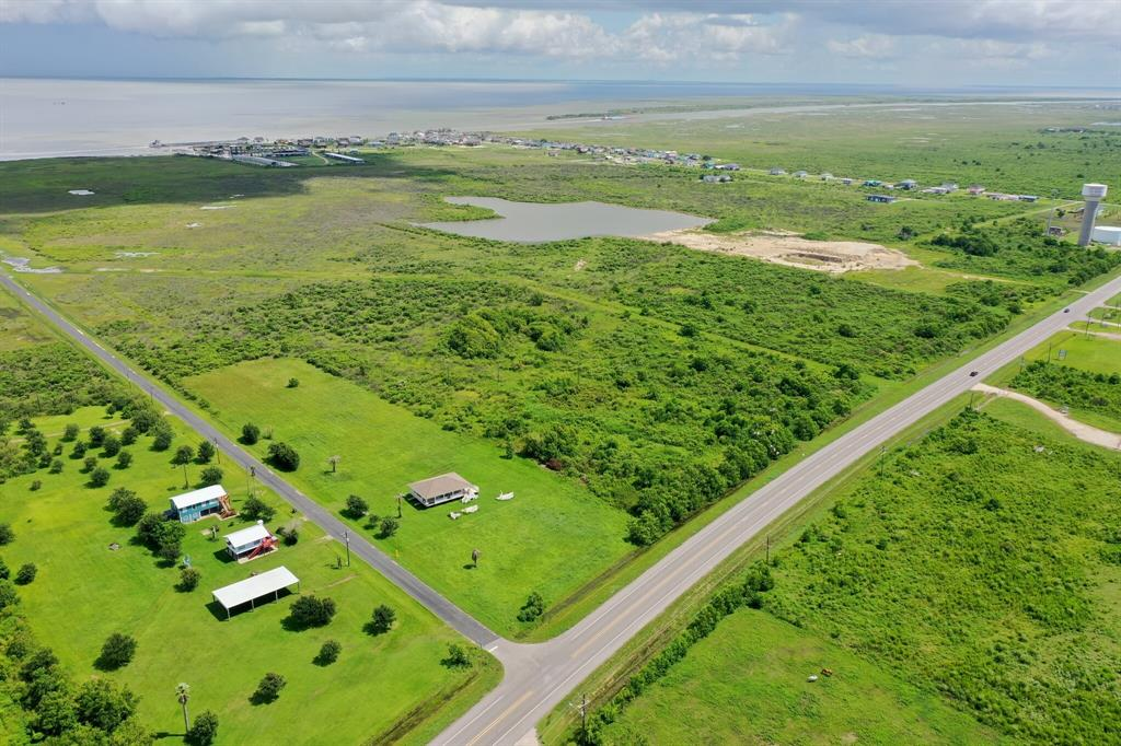 272 +/- Acres Total of Prime Bay Front Residential Development Land with Direct Access to Galveston Bay and Intercostal Waterway. 212+/- Acres Potential for Residential Canal/Marina Based Neighborhood, in addition there is 60+/- Acres noncontiguous mitigation land.